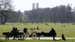 Der Englische Garten in München | Bild:Sven Hoppe/dpa
