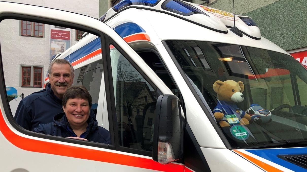 Der Wünschwagen aus Kaufbeuren mit Winfried Sutter und Claudia Lerchenmüller