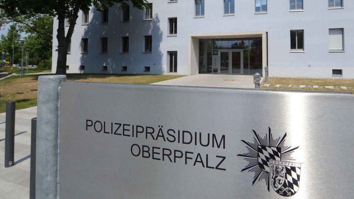 Das Polizeipräsidium der Oberpfalz in Regensburg.