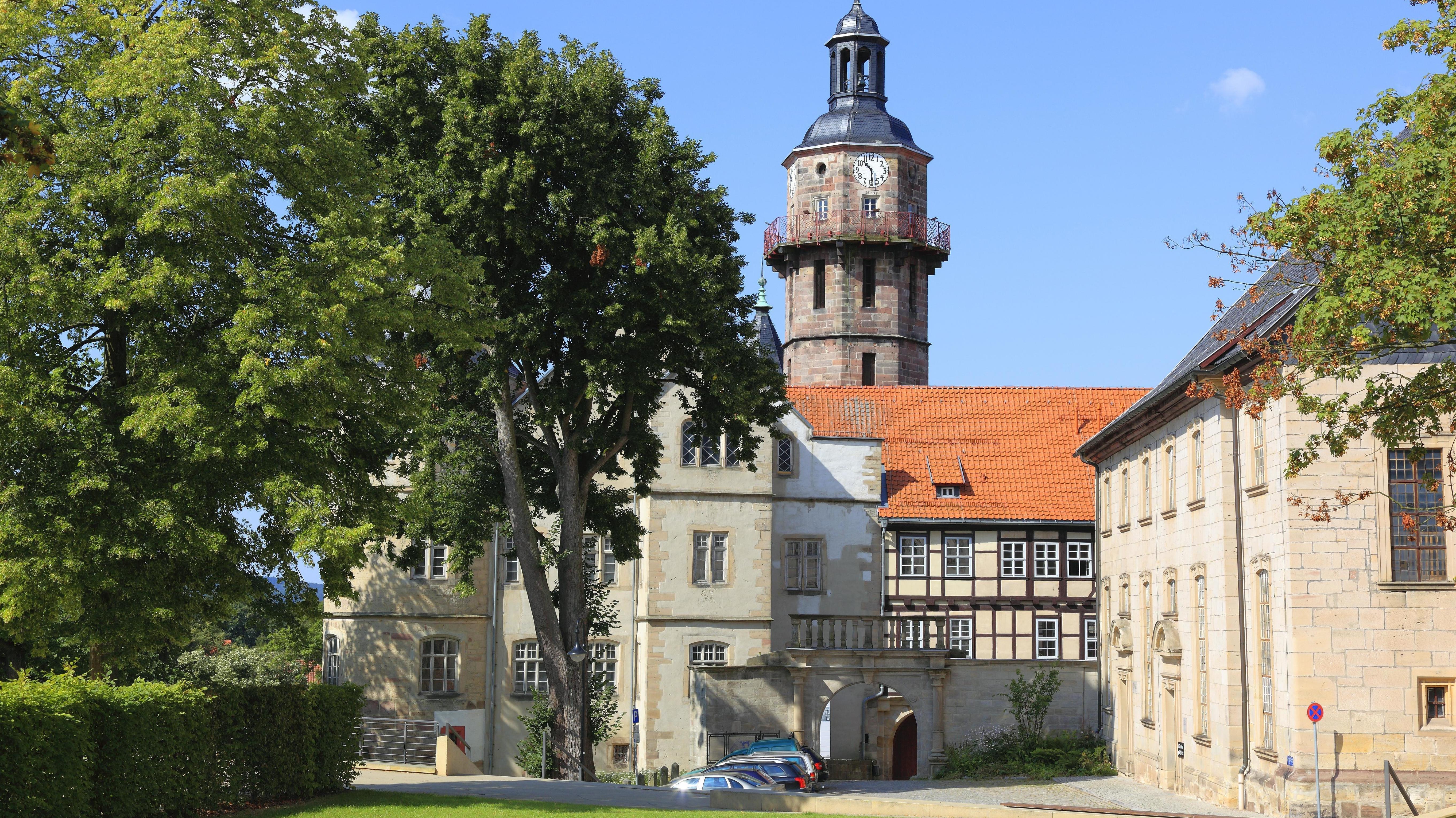 Schloss Bertholdsburg in Schleusingen, Landkreis Hildburghausen, Thüringen