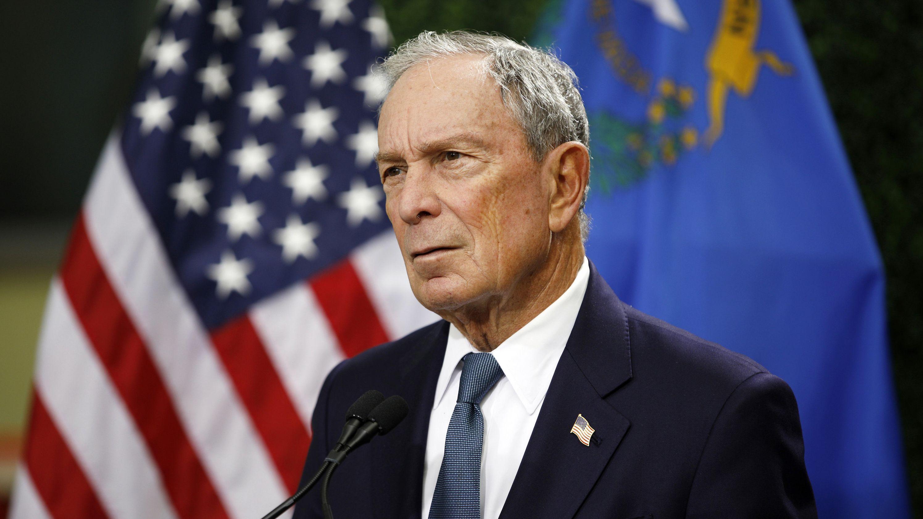 """Bloomberg über Trump: """"Beispiellose Bedrohung für unsere Nation""""."""