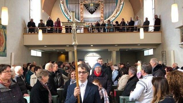 Der Start der Fastenaktion in der evangelischen Kirche in Neumarkt