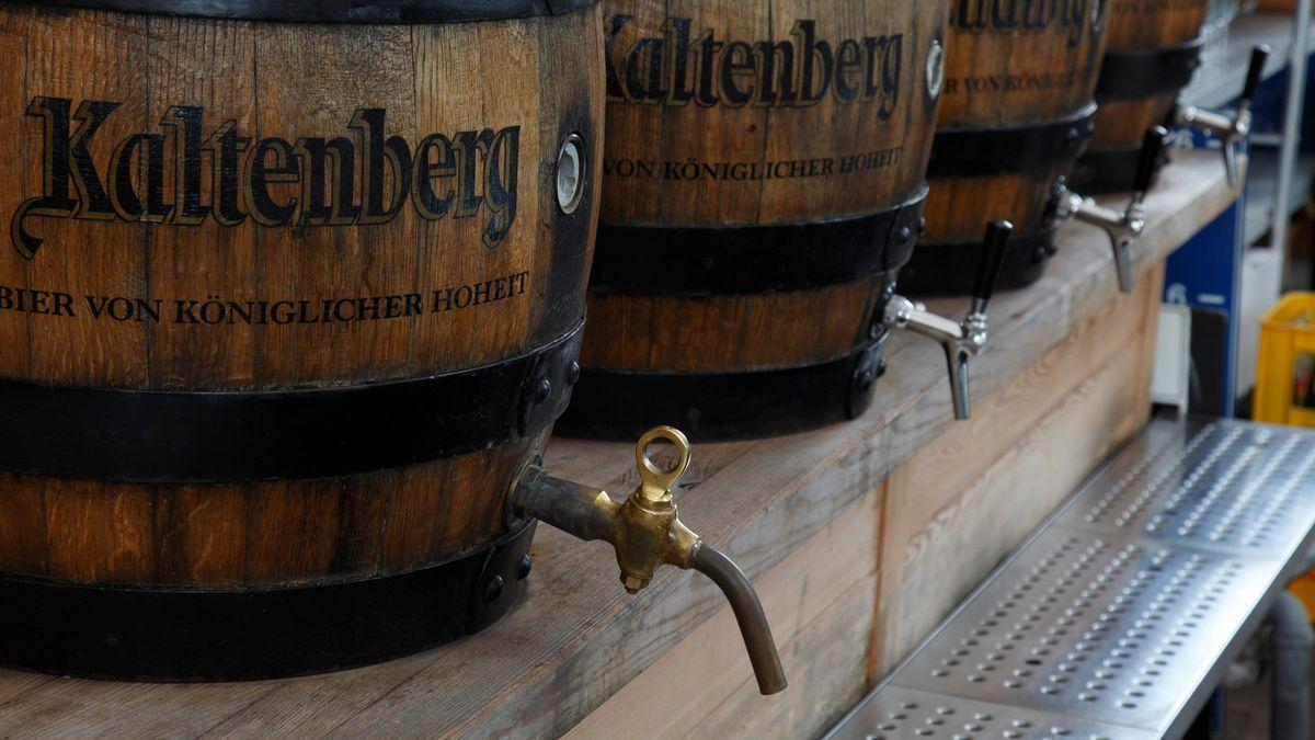 Bierfässer von königlicher Hoheit