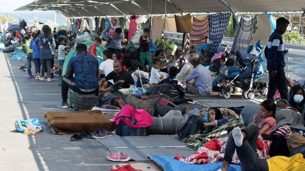 Flüchtlinge in Moria