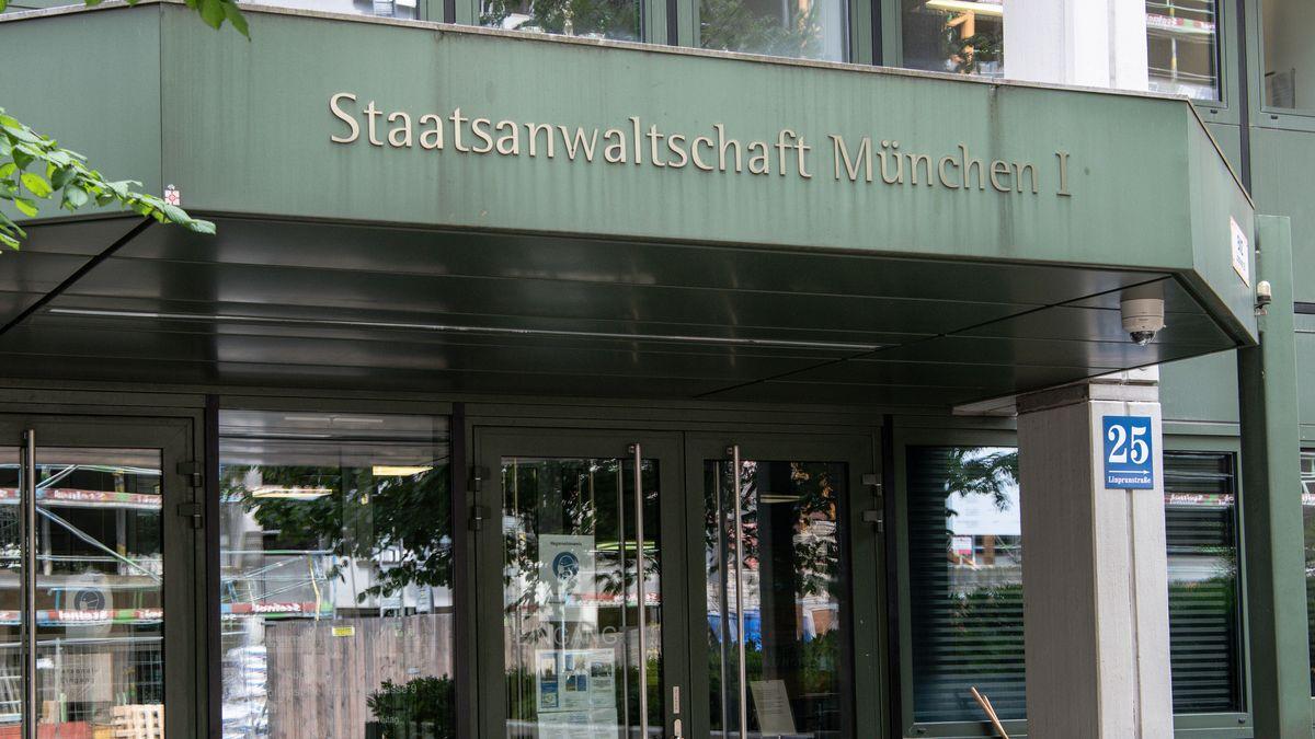 Eingang zum Gebäude der Staatsanwaltschaft München I