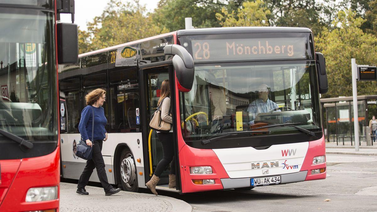 Busse der WVV