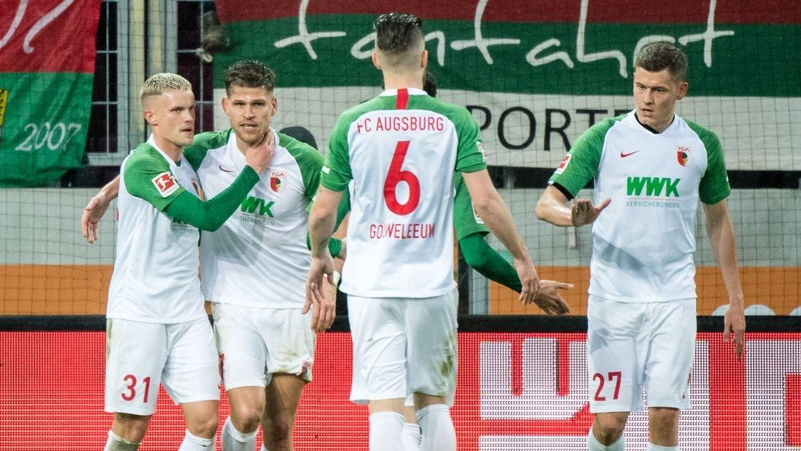 Torjubel beim FC Augsburg