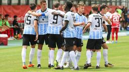 Spielszene TSV 1860 München - Würzburger Kickers   Bild:dpa