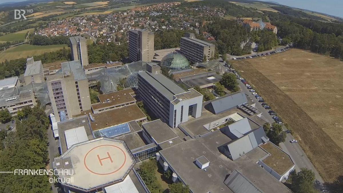 Das Rhön-Klinikum in Bad Neustadt