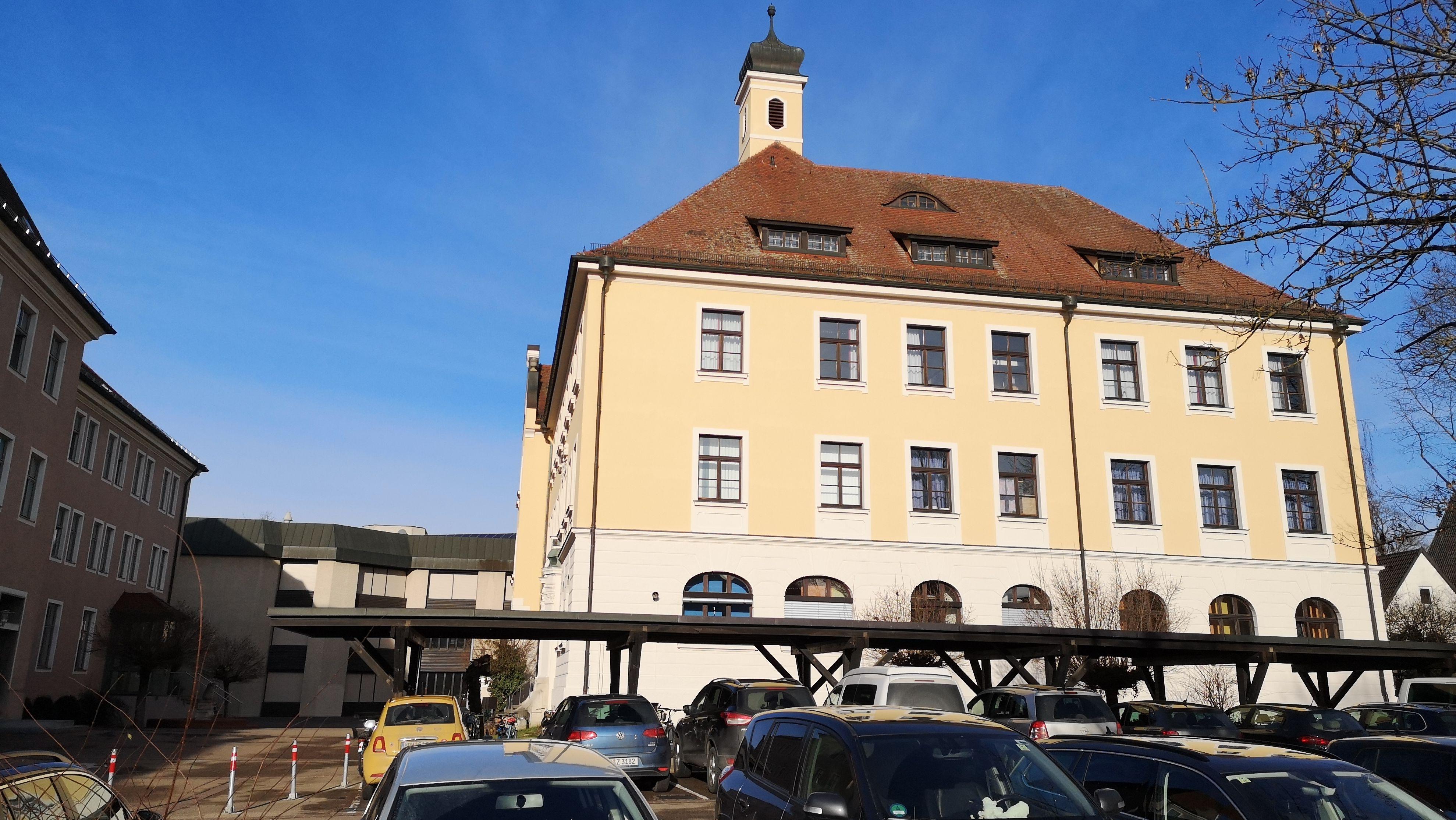 Albertus-Gymnasium in Lauingen (Archivbild)