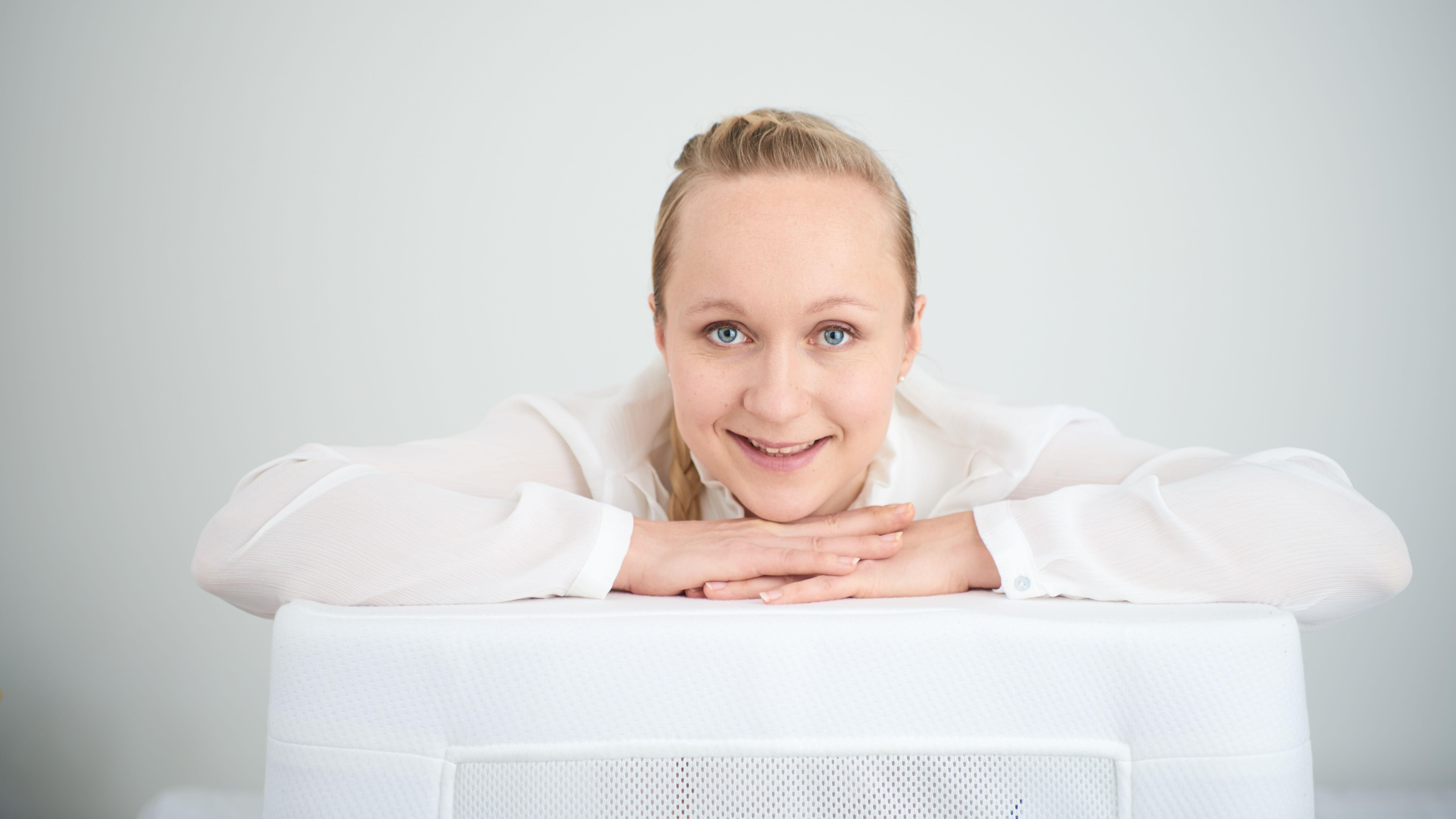 LullaMe-Gründerin Hanna Sissala aus Finnland