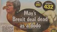 """Die Titelseite der """"Sun"""" zur Brexit-Abstimmung   Bild:BR"""