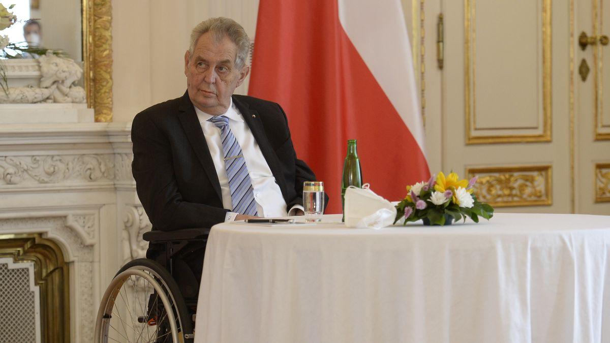 Der tschechische Präsident Milos Zeman