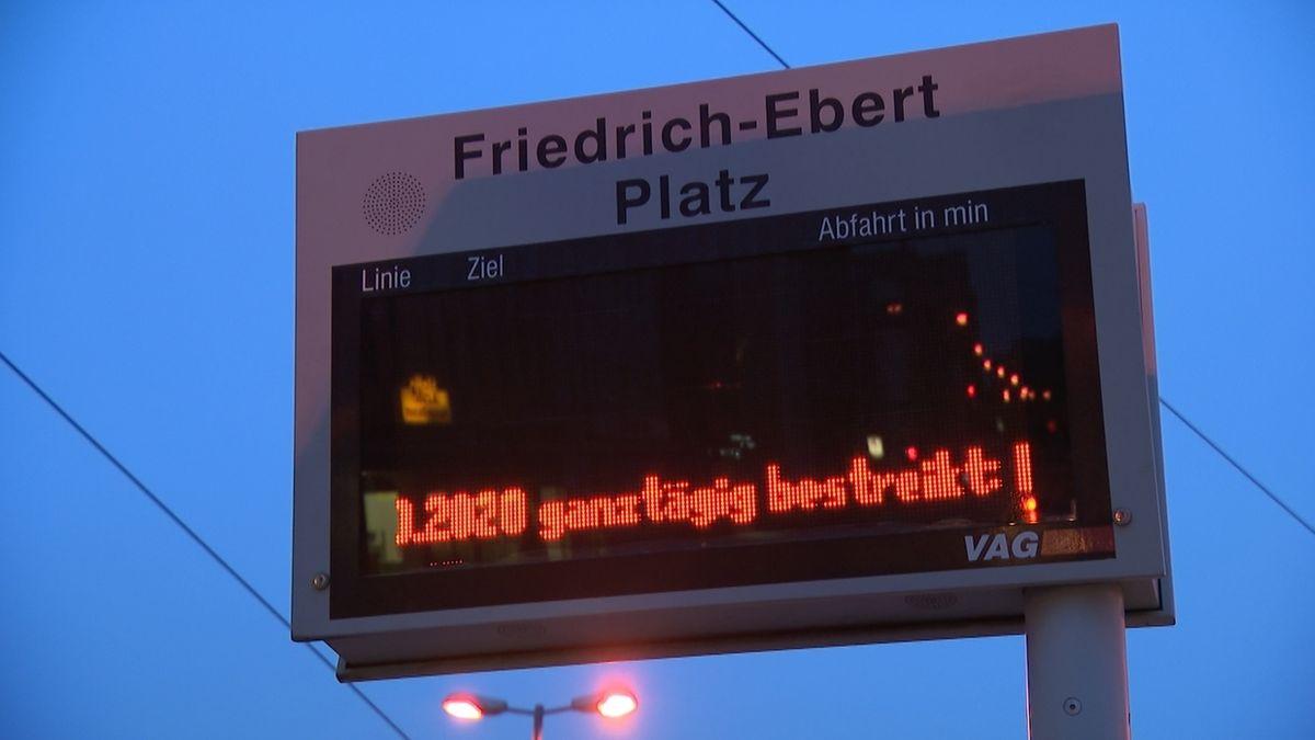 Warnstreik Nürnberg und Fürth