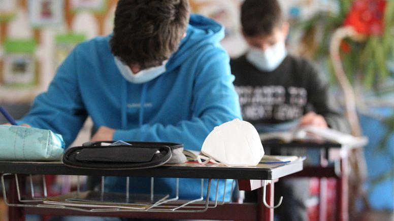 Archivbild: Schüler im Unterricht | Bild:pa/dpa