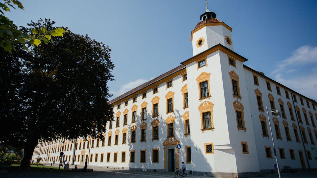 Die Residenz in Kempten - Sitz von Amtsgericht und Landgericht