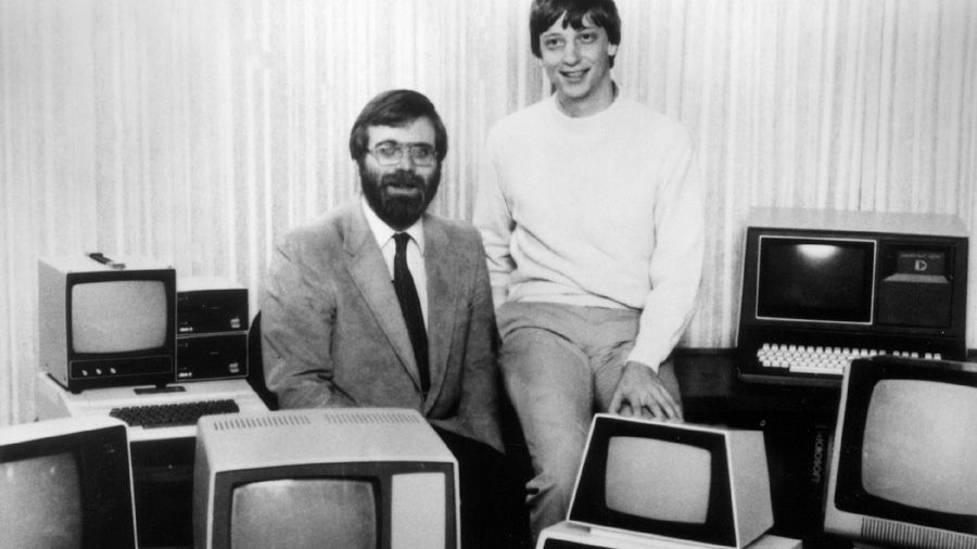 Bill Gates und Paul Allen 1981