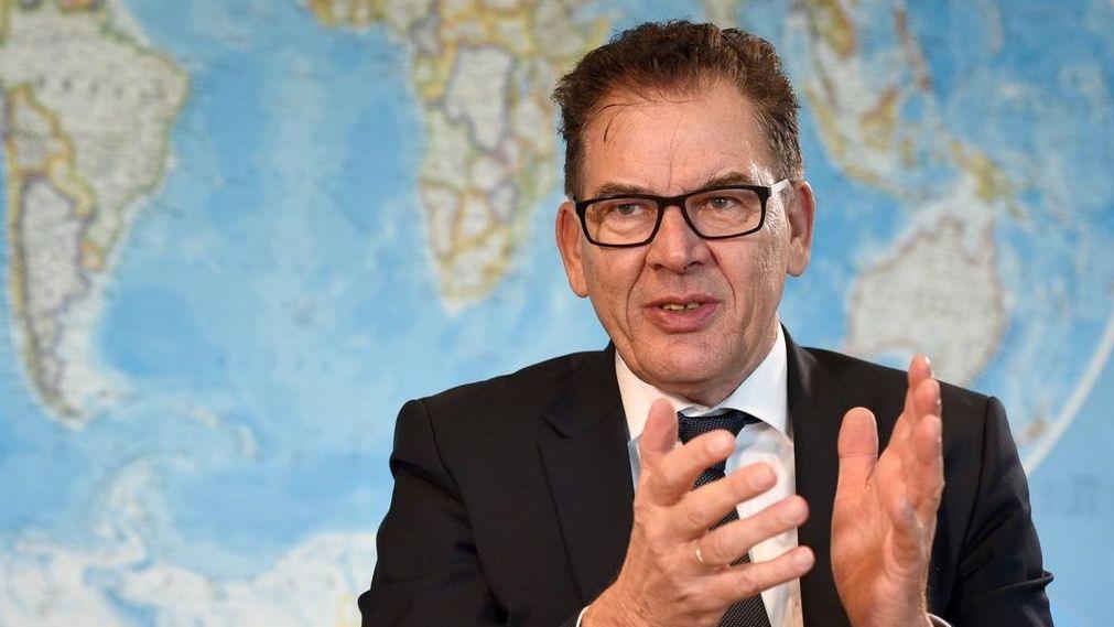 Entwicklungsminister Gerd Müller, CSU.