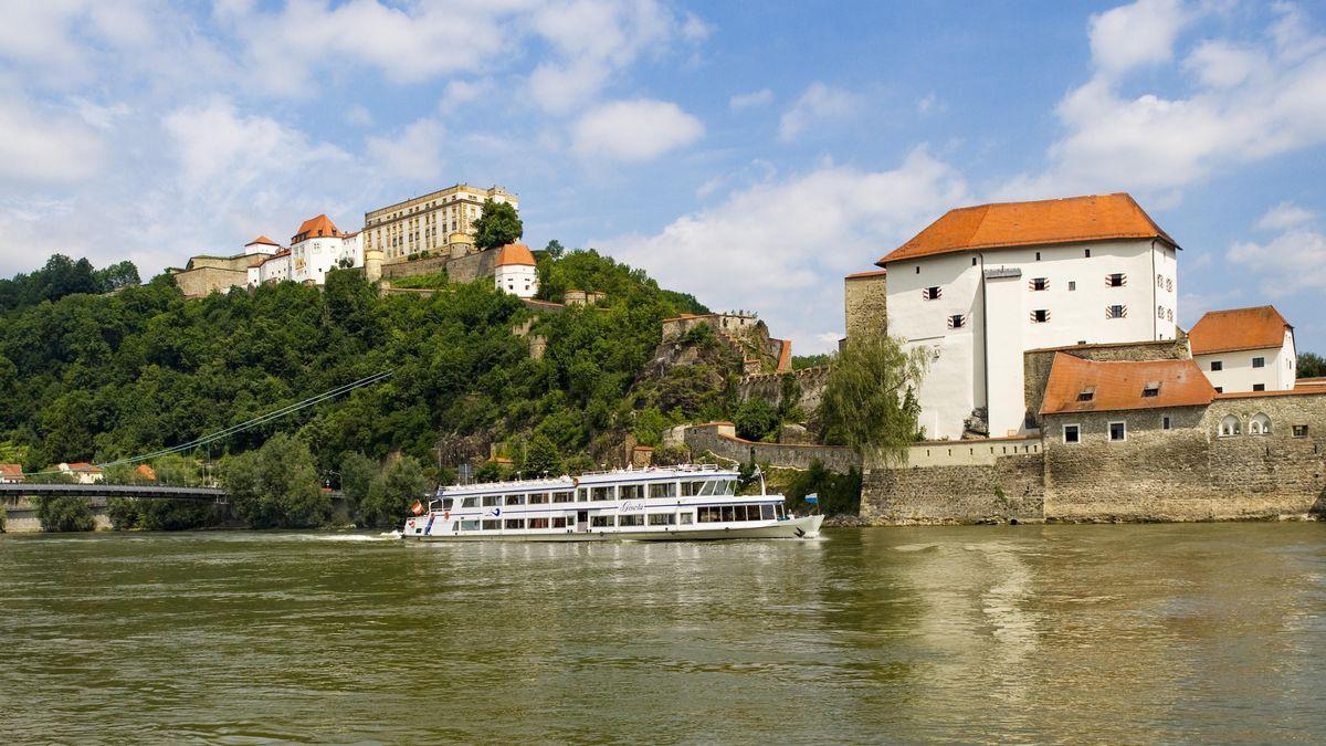Die Donau bei Passau
