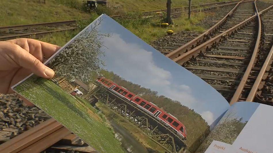 Streit über Reaktivierung der Steigerwaldbahn