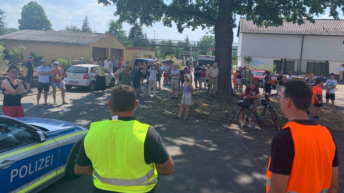Demo gegen Besucheransturm auf Mainschleife