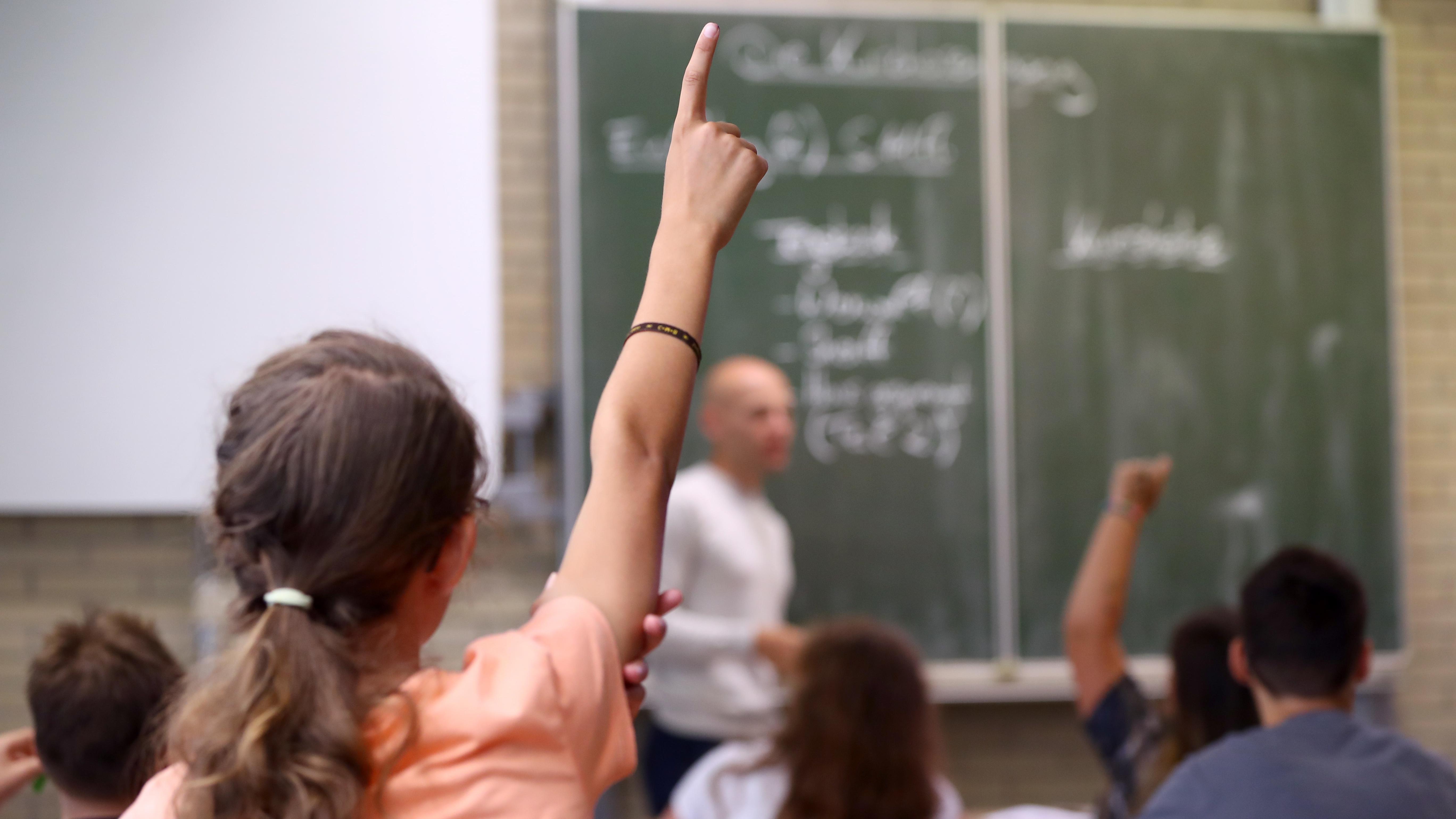 Klassenzimmer in Aschaffenburg
