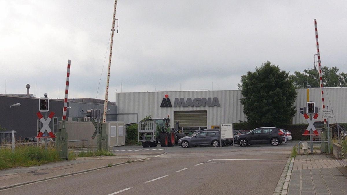 Der Automobilzulieferer Magna in Bad Windsheim