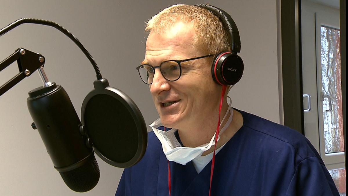 Dr. Manfred Wagner produziert Klilnik-Podcast