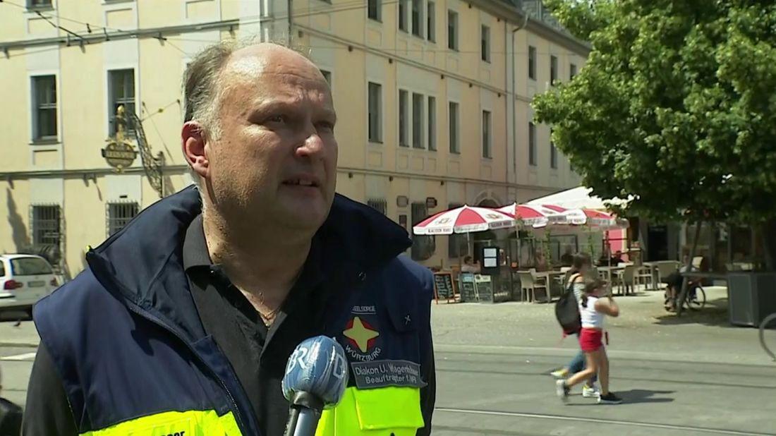 Notfallseelsorger Ulrich Wagenhäuser im BR24Live Interview
