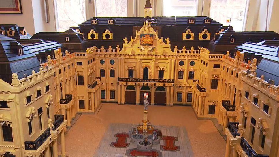 Die Würzburger Residenz aus Legosteinen