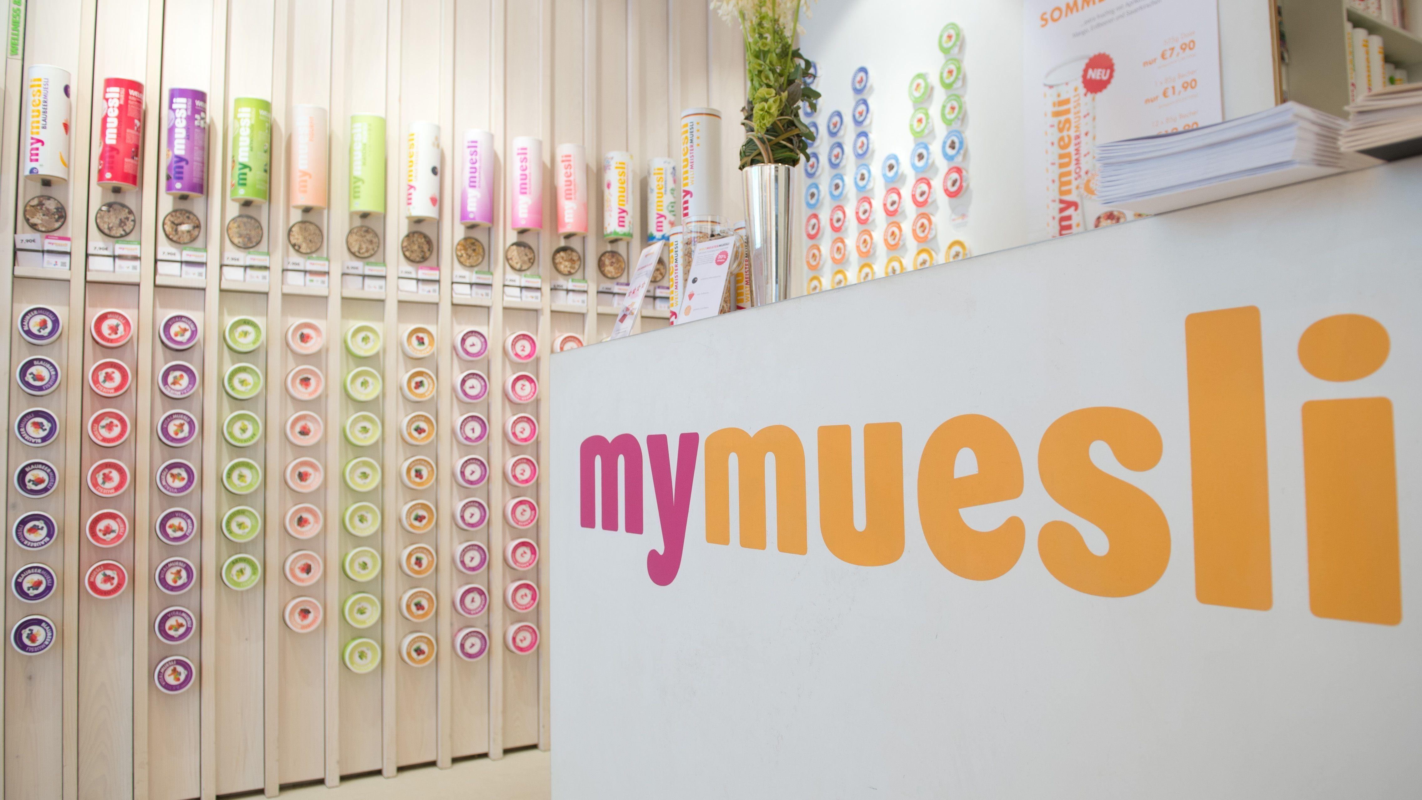 MyMuesli-Filiale