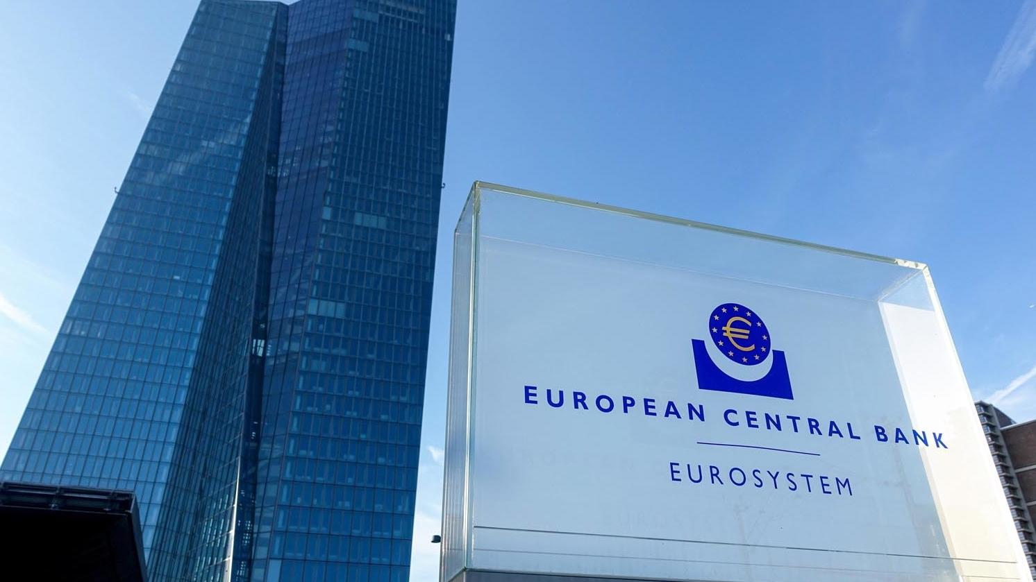 Europäische Zentralbank in Frankfurt/Main