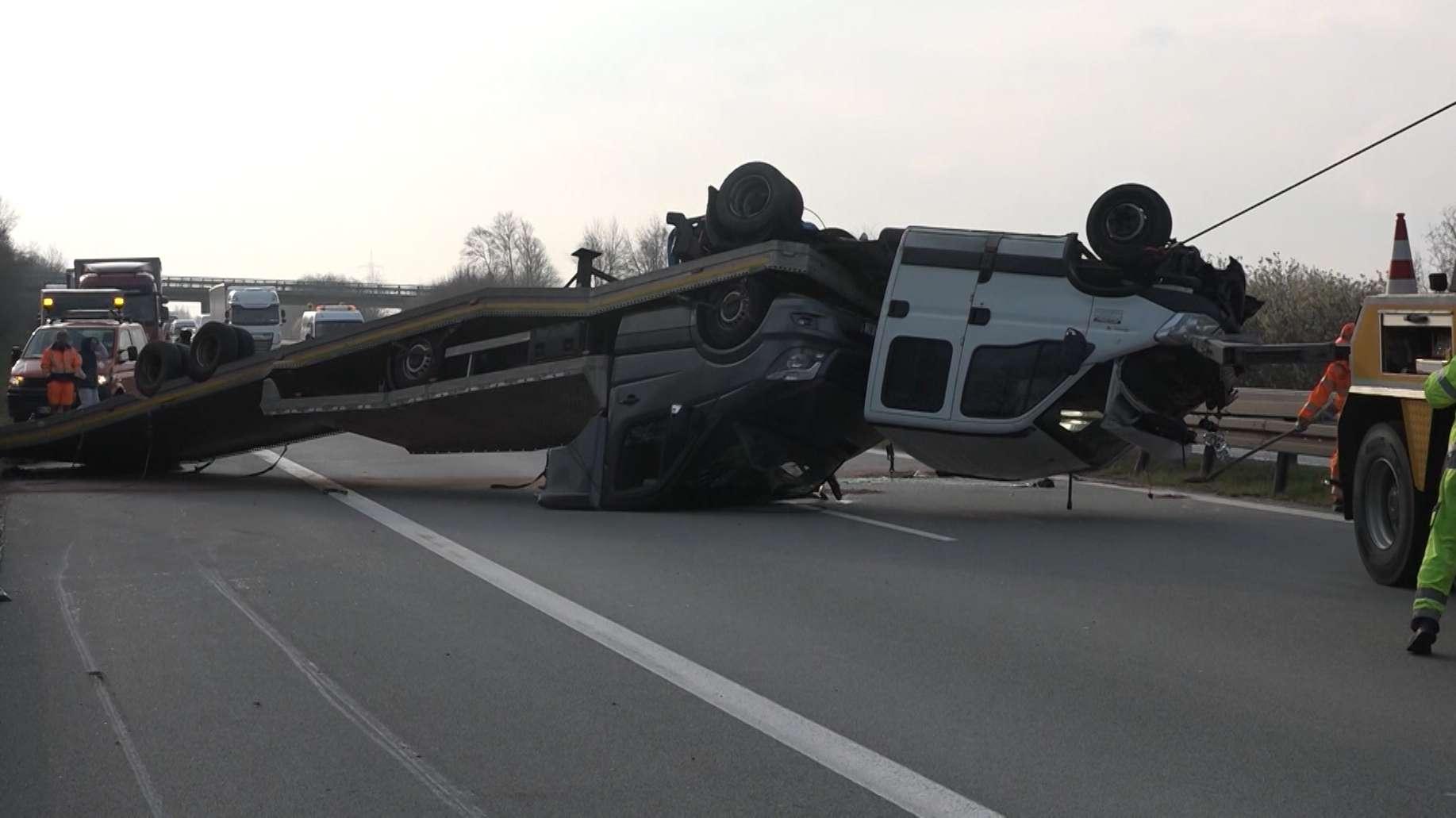 Unfall auf A3