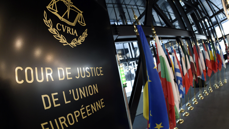 Der Europäische Gerichtshof (EuGH) mit Sitz in Luxemburg ist das oberste EU-Gericht.