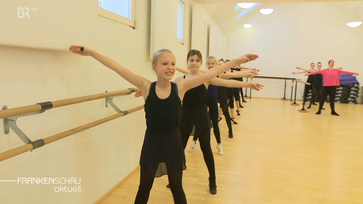Tanzmariechen beim Training