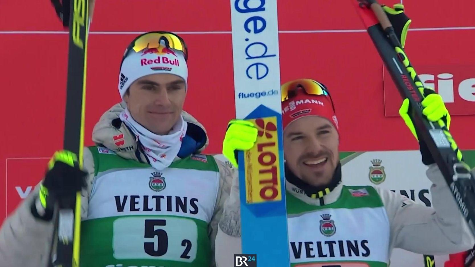 Vinzenz Geiger und Fabian Rießle