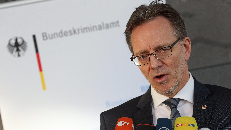 Holger Münch, Präsident des Bundeskriminalamtes (BKA)