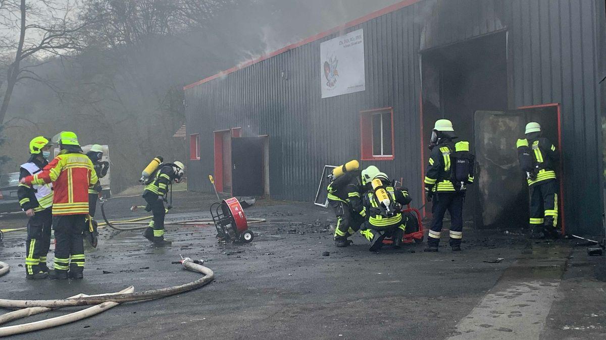 Feuerwehreinsatz in Kaltenhausen