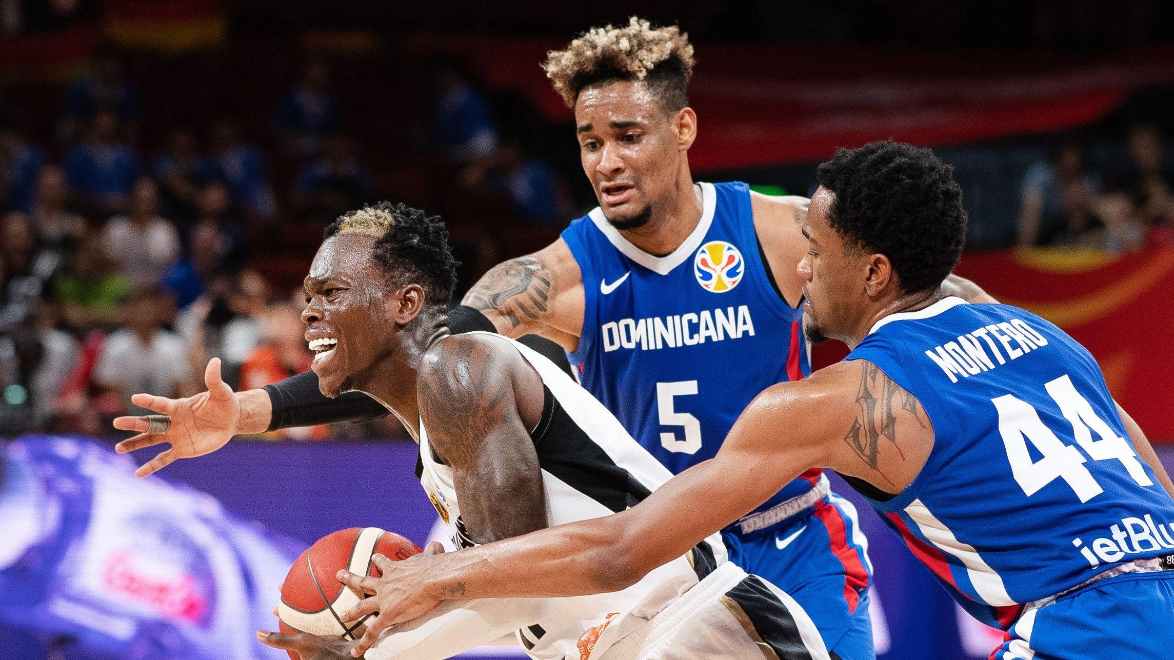 Spielszene Deutschland - Dominikanische Republik
