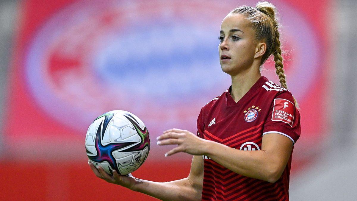 Giulia Gwinn steht vor ihrem Comeback in der Nationalmannschaft