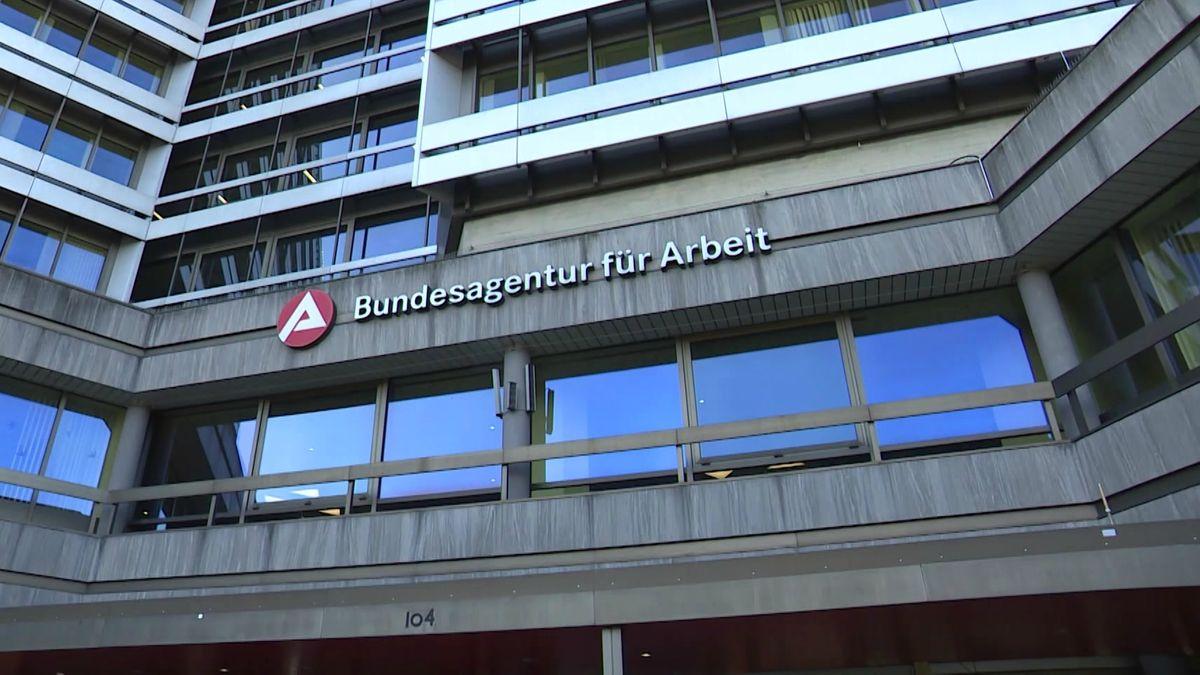 Das Gebäude der Bundesagentur für Arbeit in Nürnberg