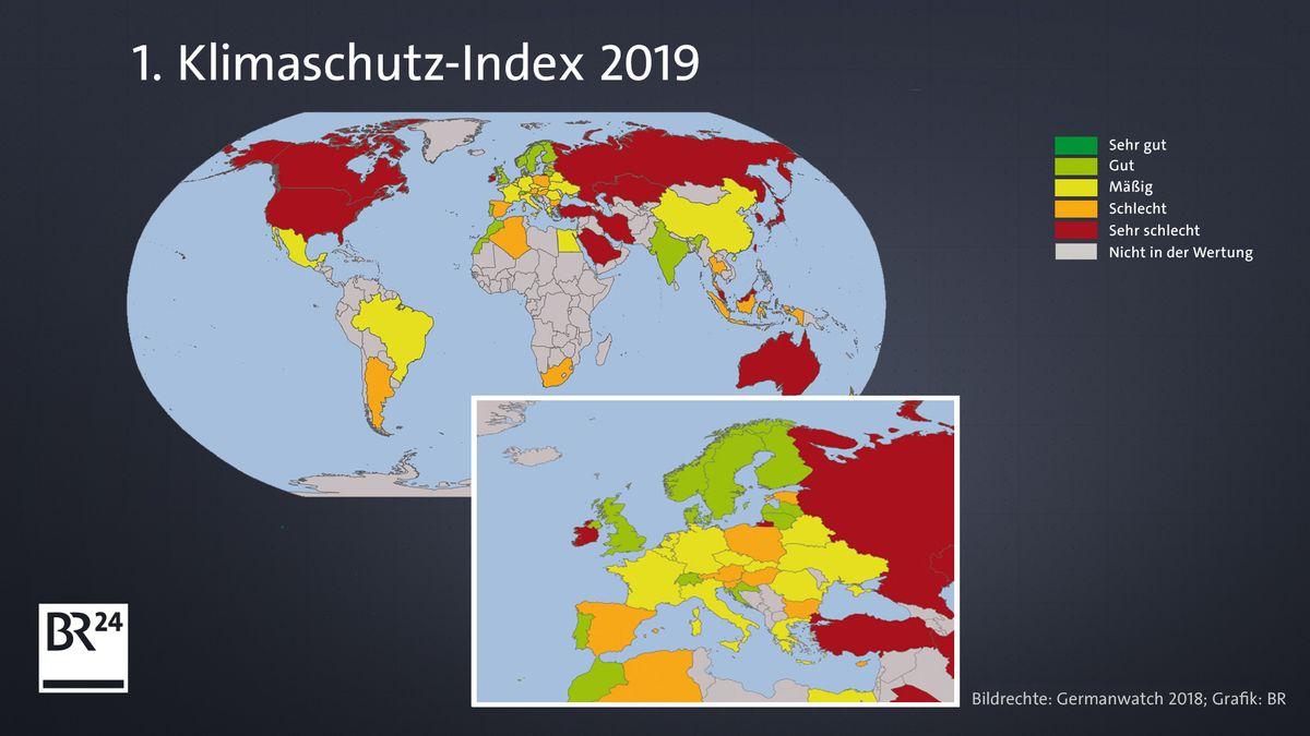 Klimaschutz-Index 2019