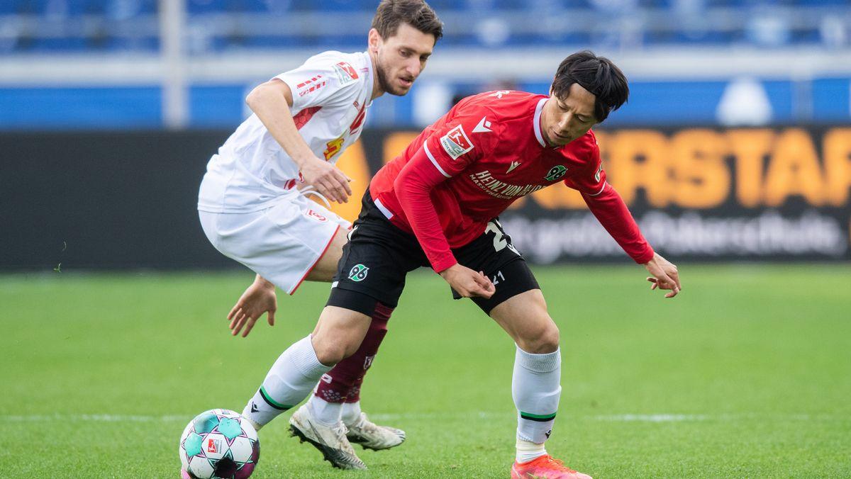 Hannover 96 gegen Jahn Regensburg