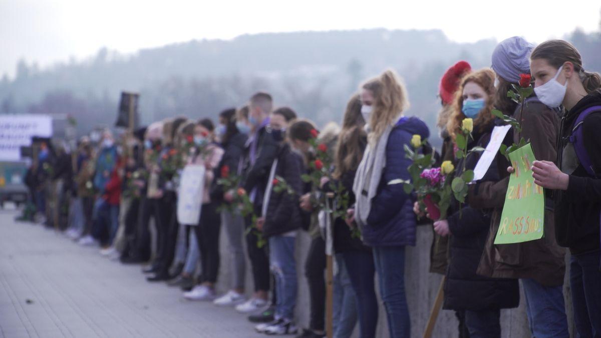 Würzburger Schüler erinnern an die Deportationen