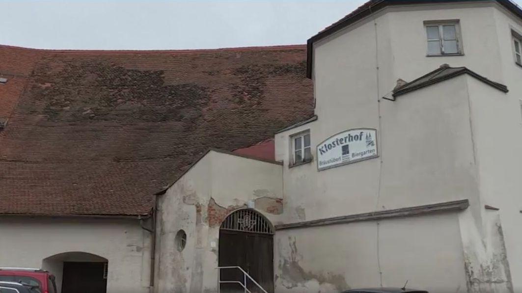 """Dachstuhl des ehemaligen """"Fassbodens"""" über der Klostergaststätte muss saniert werden"""