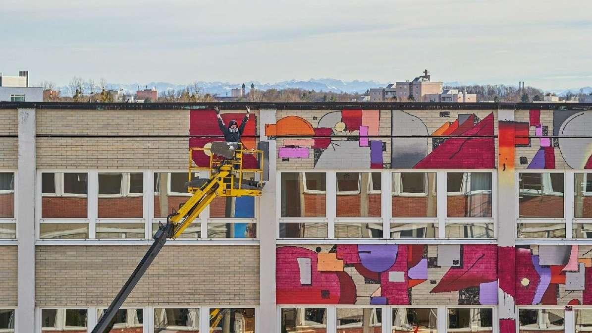 Das Z Common Ground in München Laim während der Umgestaltung