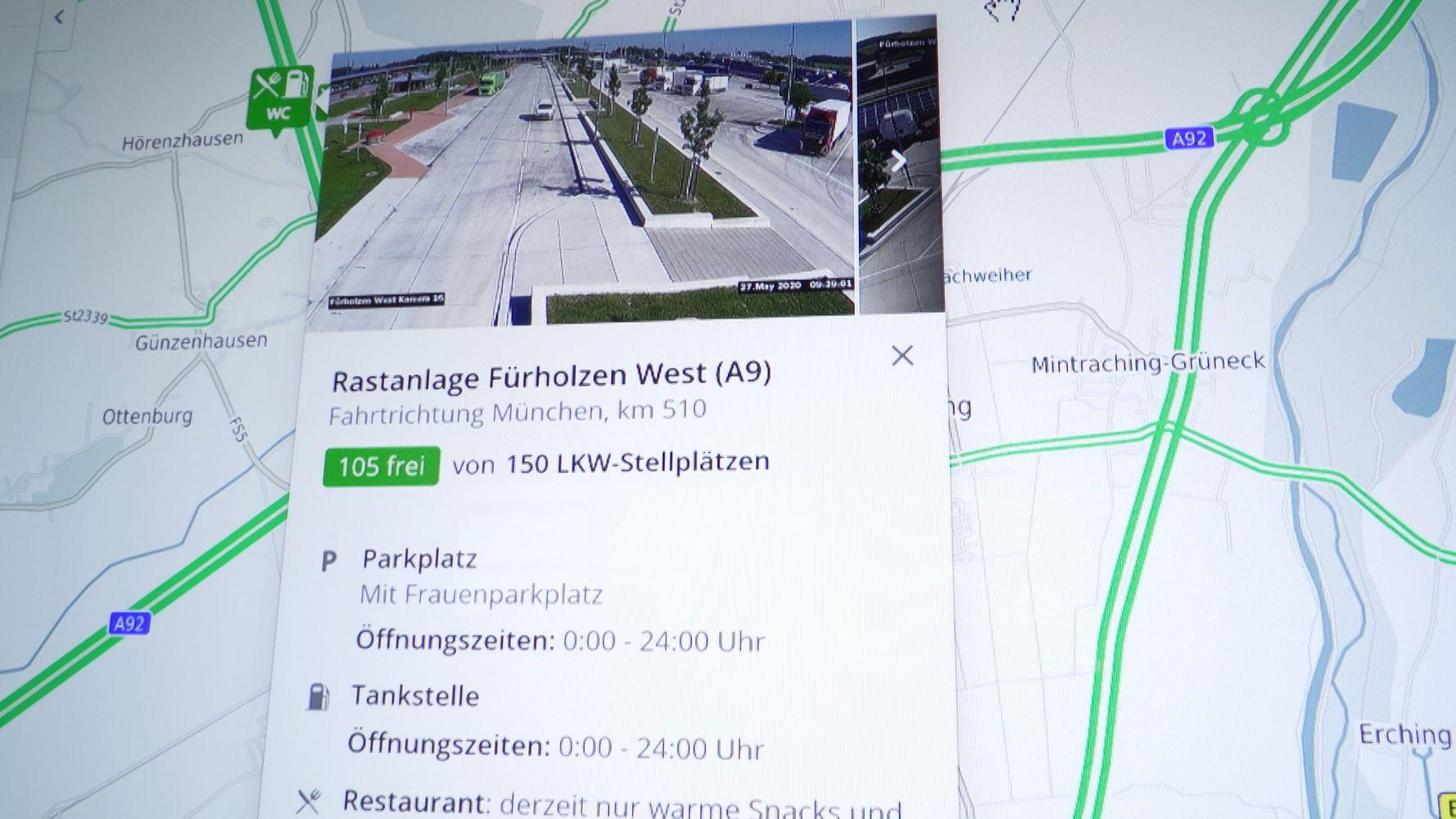 "Verkehrsinformationsportal ""BayernInfo"""