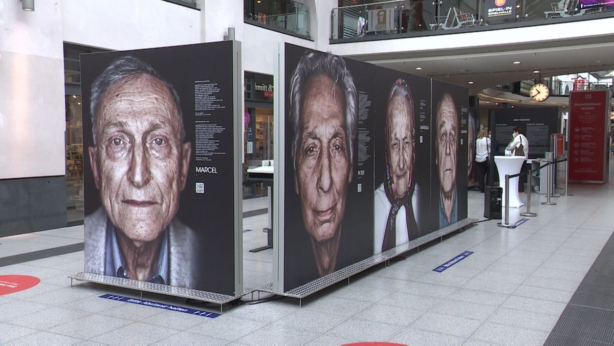 """Gegen das Vergessen"": Ausstellung am Nürnberger Hauptbahnhof"