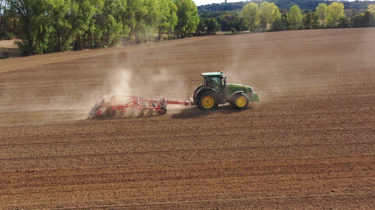 Bild von Landwirtschaft auf einem Acker