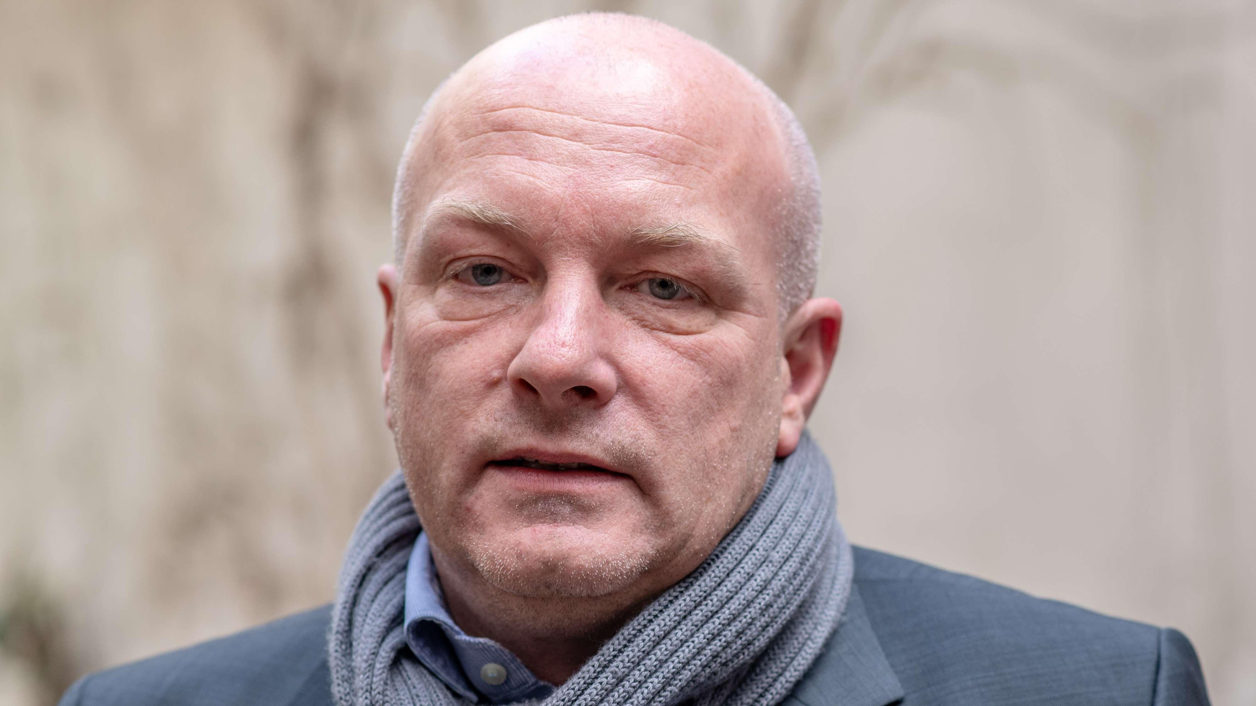 Joachim Wolbergs, der suspendierte Oberbürgermeister von Regensburg